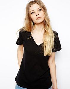 ASOS T-Shirt with V Neck
