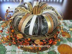 How To | DIY  Fall Mason Jar Lid Pumpkin for Home Decor | Shelly's Home Life - YouTube