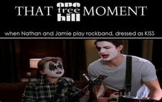 That one tree hill moment-priceless