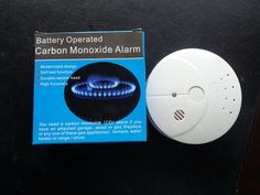 Lot of 4 Carbon Monoxide Alarms with 9v Batteries and FREE Delivery and Tracking