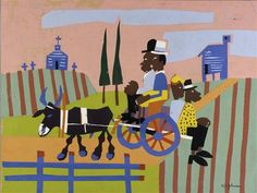 Going to Church - William H. Johnson African American Artist, American Artists, William H Johnson, Missionaries Of Charity, Contemplative Prayer, Banner Images, Harlem Renaissance, Black Artists, Naive Art