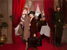 Tom Lovell, Occupation of Paris, Cosmopolitan magazine story illustration, 1943, oil on canvas, 30 x 40 inch