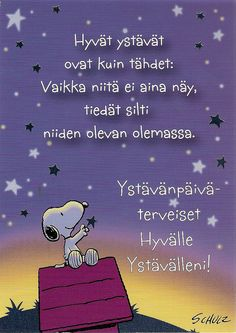 Hyvää ystäväpäivää Finnish Language, Happy Friendship Day, Some Cards, Diy Cards, Anime Love, The Life, My Images, Finland, Valentines Day