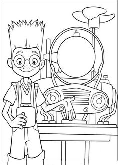 Meet The Robinsons Coloring Page