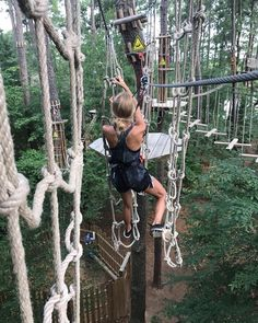 Last time in Tennessee I got to watch my wife attempt to become the ultimate ninja warrior in the trees. Probably one of the coolest thing I've done in awhile! Just goes to show you there is so many hidden things you can do while your there if you just look for it! Go follow @tnvacation to find other cool places visit honestly! #ad #madeintn