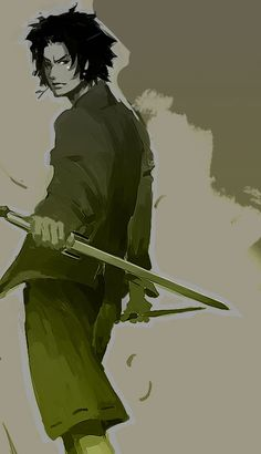 Mugen {by *Athena-chan} – Samurai Champloo Cartoon As Anime, Anime Nerd, Anime Guys, Manga Anime, Cowboy Bebop, Blue Exorcist, Samurai, Avatar, Naruto