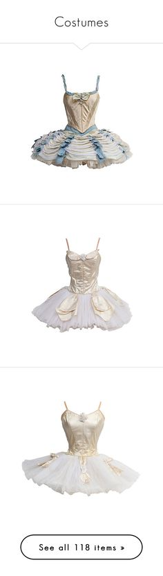 """Costumes"" by jesuisunlapin ❤ liked on Polyvore featuring costumes, dresses, ballet, dance, robe, costume, ballerina costume, ballerina halloween costume, ballet halloween costume and ballet costumes"
