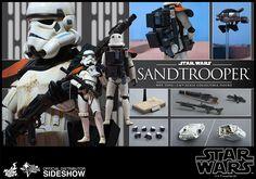 Hot Toys Sandtrooper Sixth Scale Figure
