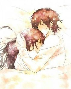 Cute Couple Sleeping, Anime Couples Sleeping, Anime Couples Cuddling, Couples Anime, Anime Couple Kiss, Cute Couples, Couple Cuddling, Romantic Couples, Drawing People Faces