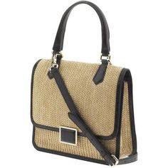 Marc by Marc Jacobs Solid Straw Top Handle Satchel Handbag