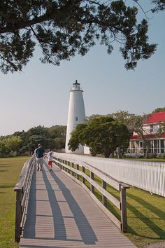 Second Oldest in the Nation... Ocracoke Island Lighthouse in Outer Banks