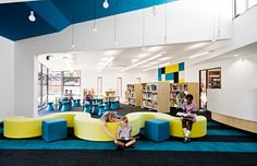 Colorful-Elementary-Library-with-Unique-Wave-Couch.jpg (645×416)