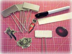 Gardener Tin Basket ♥ Crafty Secrets June Linky Party!