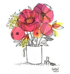 bouquet, Cécile Hudrisier