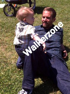 Paul Walker and kid's..........you got to love it :-)