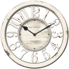 jcpenney.com | FirsTime® Antique Contour Wall Clock