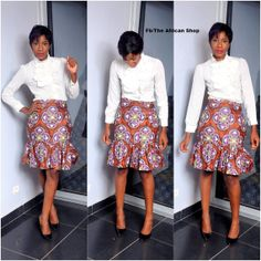 Tchoudi Skirt by THEAFRICANSHOP on Etsy,