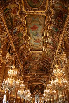 Places to See: Paris Opera House (Palais Garnier)You can find Opera house and more on our website.Places to See: Paris Opera House (Palais Garnier) Architecture Baroque, Beautiful Architecture, Beautiful Buildings, Beautiful Places, Ancient Architecture, Russian Architecture, Classical Architecture, Gold Aesthetic, Travel Aesthetic