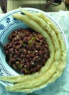 Bobolo and beans: Cameroon food is diverse and unique. Our diversity is unique