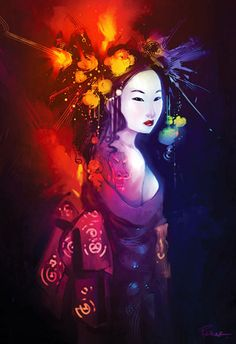 geisha imagenes arte y make up por michelle phan