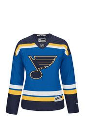 STL Blues Womens Premier Blue Hockey Jersey