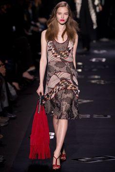 Diane von Furstenberg Fall 2013 Ready-to-Wear Fashion Show - Cara Delevingne