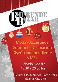 Emprende Bazar Edición Navidad. 6.12.2014