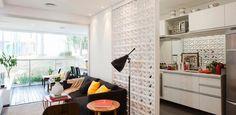 Cobogó divide ambientes, deixa a casa ventilada e filtra a luz; veja ideias