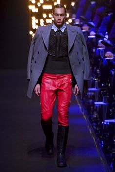 Dirk Bikkembergs Men's Fall 2016