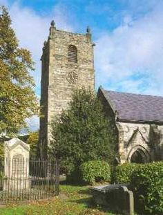 St Collens Church in Llangollen North Wales