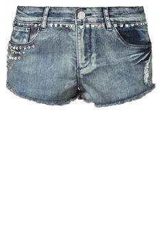 Stoere #denim #shorts met #studs van Jane Norman @ Zalando