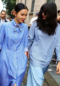 You've probably never thought of these ways to wear your striped shirt. They'll take you from east-coast prep to street-style chic