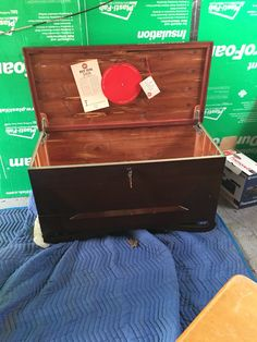 Cedar Chest $80 Hope Chest, Storage Chest, Toronto, Red, Home Decor, Homemade Home Decor, Decoration Home, Rouge, Tack Trunk