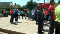 Profesores en Gómez Palacio se manifiestan por falta de pago de prestaciones