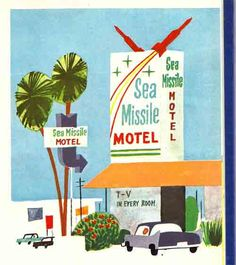 Sea Missile Motel, Cocoa Beach, FL