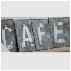 cafe letters