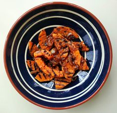 Nuts about food: Zucca in agrodolce, or sweet and sour grilled butternut squash