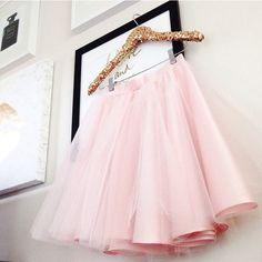 Office decor -- Blush tulle skirt  by Bliss Tulle