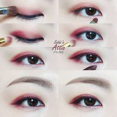 Korean makeup ideas, This helps nails grow longer simply because you are essentially feeding the newest nail. Utilize a top coat once you polish your fingernails to lower chipping. Makeup Korean Style, Korean Makeup Tips, Asian Eye Makeup, Korean Makeup Tutorials, Eye Makeup Tips, Smokey Eye Makeup, Makeup Eyeshadow, Makeup Brushes, Makeup Ideas
