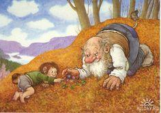 Trolls illustratör Rolf Lidberg