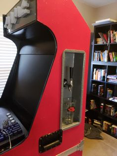 Introducing a modular arcade kegerator The Backstory I recenly got into doing random stuff with arcades. In October 2018 I got ahold of a completely … Pi Arcade, Arcade Room, Retro Arcade, Arcade Games, Diy Arcade Cabinet, Computer Build, Arcade Machine, New House Plans, Guy Stuff