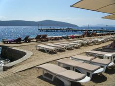 Ersan Resort & Spa bodrum : Private beach area
