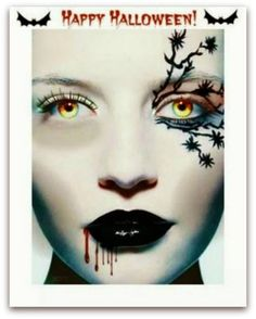 The Makeup Examiner: Tips For Easy and Inexpensive Halloween Makeup