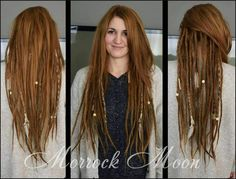 Pin by Clare Raney on dread hairstyles | Pinterest | Dreads ... | Einfache Frisuren