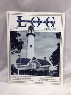 The Keeper's Log US Lighthouse Society Magazine Spring 1988