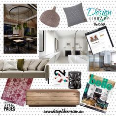 The DL Edit - Within The Pages - Interior Design Magazines - Belle August September 2015 | designlibrary.com.au