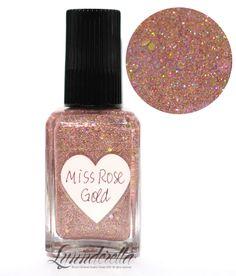 Lynnderella Limited Edition Nail Polish—Miss Rose Gold