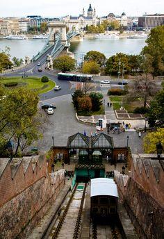 Budavári Sikló (Budapest Castle Hill Funicular)