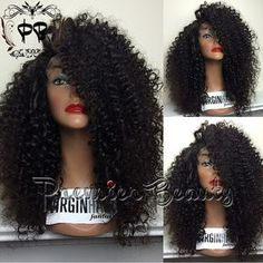Freeshipping Silk Topbase lace wig 100 by PREMIERBEAUTY on Etsy