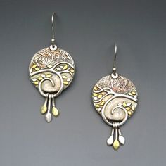 Deb Steele Artisan JewelryFalling Leaves | $180 |